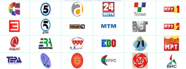 Makedonier informieren sich im TV und Internet