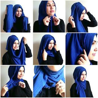 Contoh Foto Memakai Jilbab Terbaru