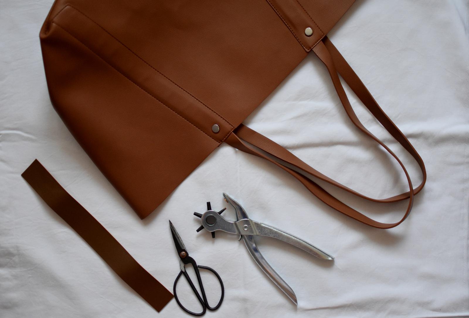 DIY: upravte si kabelku, ktorá nemá zapínanie podľa seba // postup ako si vyrobiť zapínanie