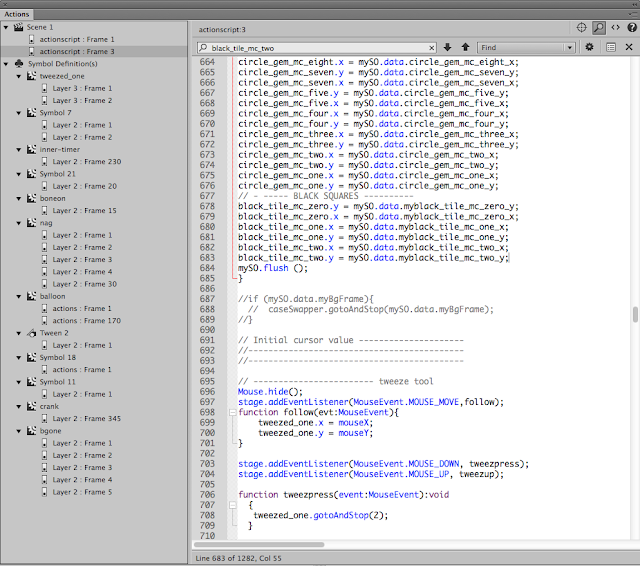 Actionscript in action! used to create an APP