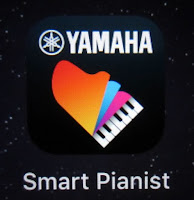 Picture of Yamaha Smart Pianist app