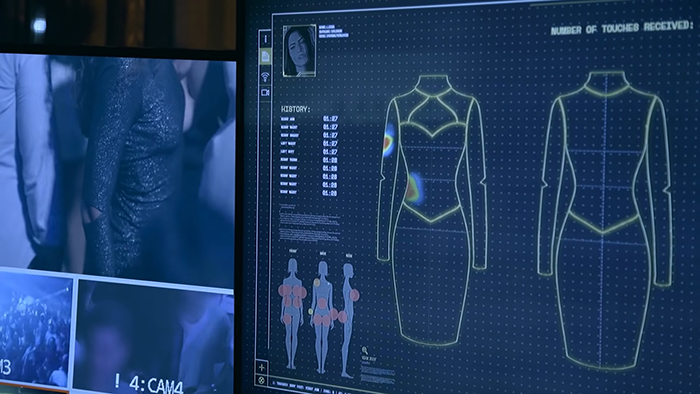 This Smart Dress Shows How Often Men Touch Women Without Their Consent
