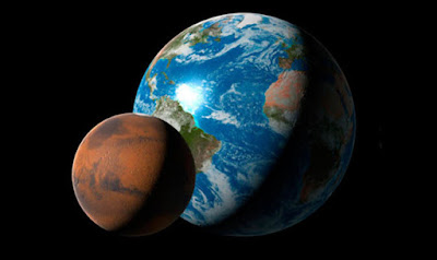 Earth-mars-image