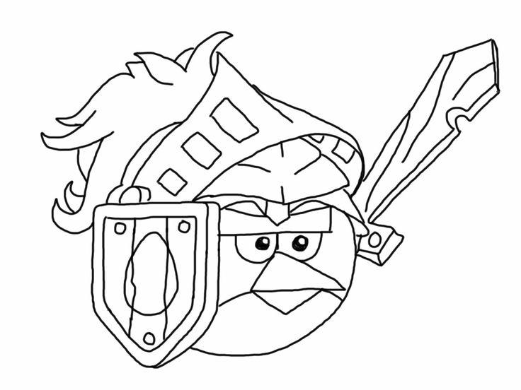 Desenho Angry Birds Menina Para Colorir: Desenhos Dos Angry Birds Para Colorir, Pintar, Imprimir E