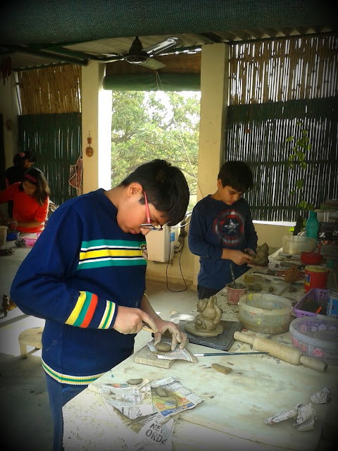 Clay Modelling Classes for Children