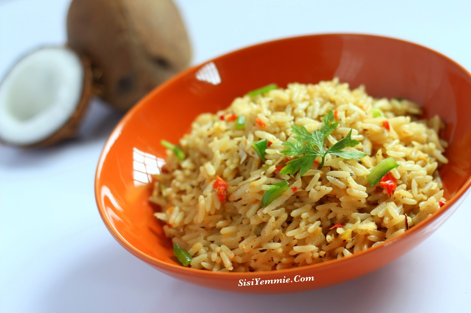 Nigerian coconut rice recipe sisiyemmie nigerian food lifestyle today lets do plain coconut rice simples coconut rice is really simple to make just a mixture of coconut rice and spices ccuart Image collections