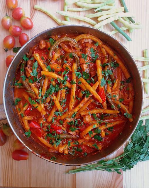 Gulasz z fasolki szparagowej / String Bean Stew