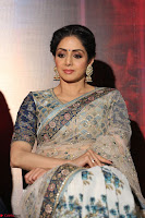Sri Devi in designer saree stunning beauty at the launch of MOM movie Trailer~  Exclusive 034.JPG
