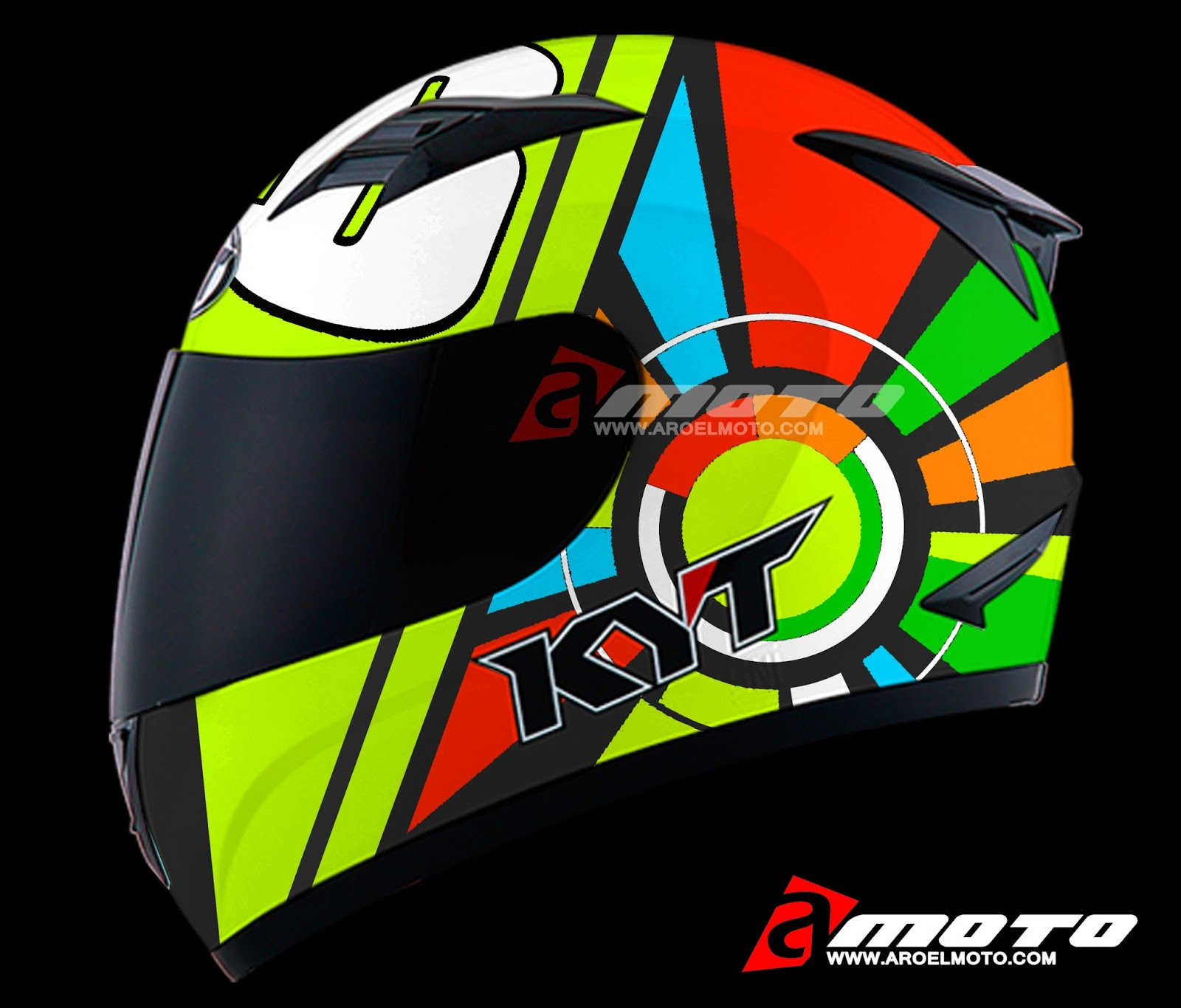 Helm Design design helm radici design luca marini helmet moto airbrush helmet