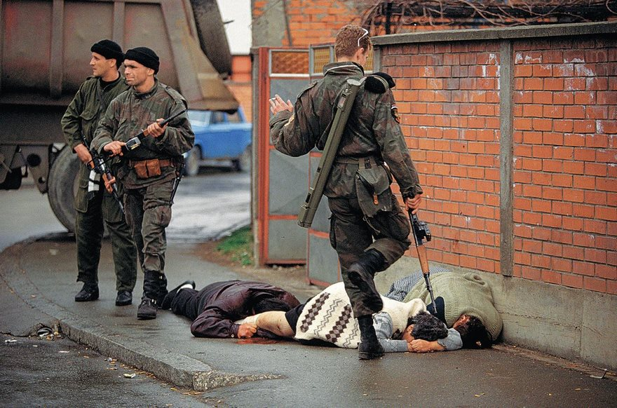 #62 Bosnia, Ron Haviv, 1992 - Top 100 Of The Most Influential Photos Of All Time