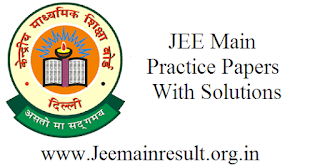 JEE Main Practice Papers