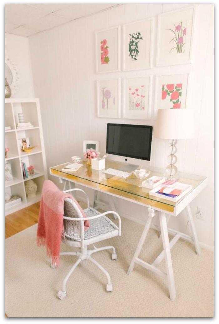 En casa de oly 10 diy para tener un espacio de trabajo - Escritorio de trabajo ...