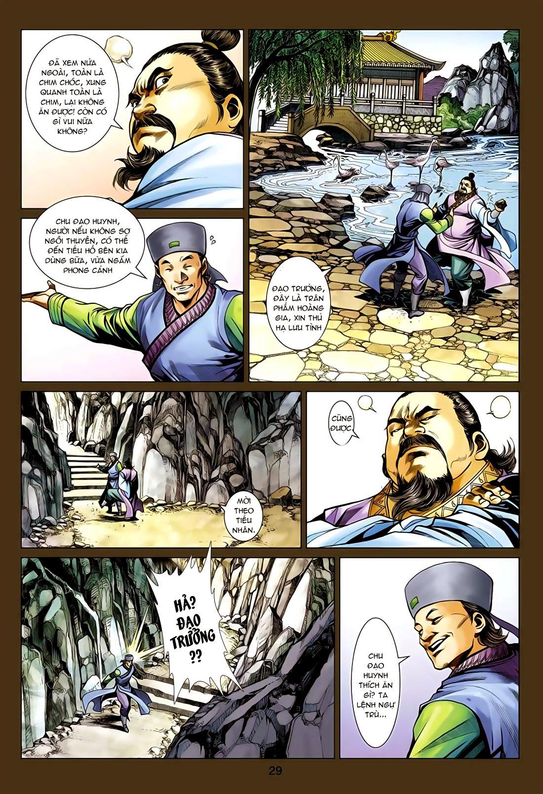 Anh Hùng Xạ Điêu anh hùng xạ đêu chap 75: hoàng thành cựu sự trang 29
