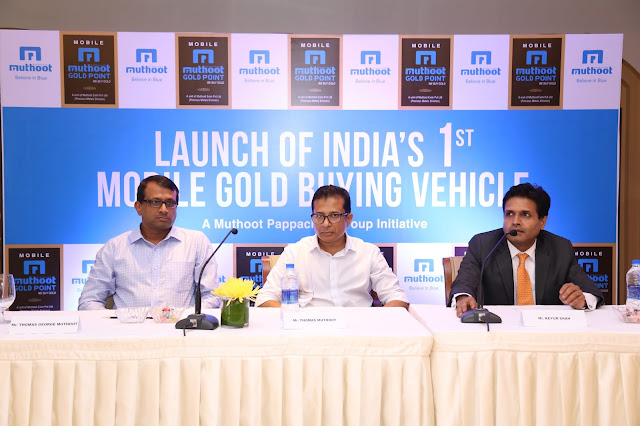 Muthoot Exim launches ''Mobile Muthoot Gold Point'' for doorstep service