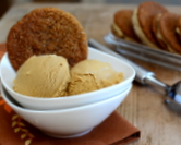 Molasses Ice Cream with Molasses Cookies