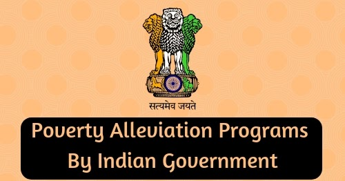 Poverty Alleviation Programs By Indian Govt | BankExamsToday