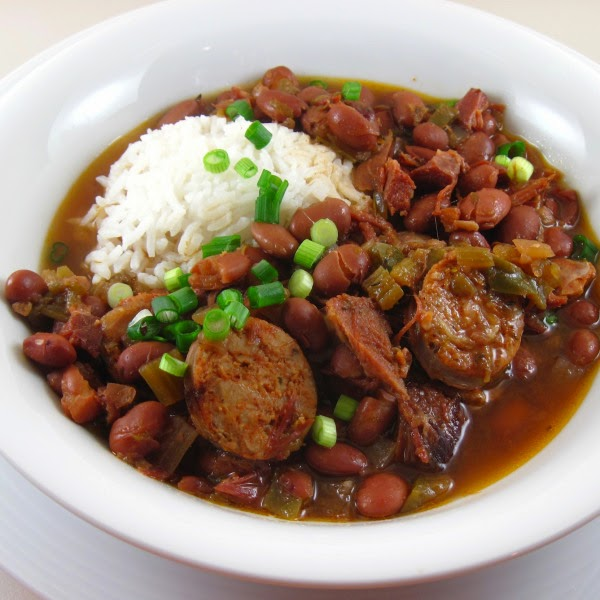 Slow Cooker New Orleans Red Beans and Rice Recipes from Food Bloggers found on SlowCookerFromScratch.com