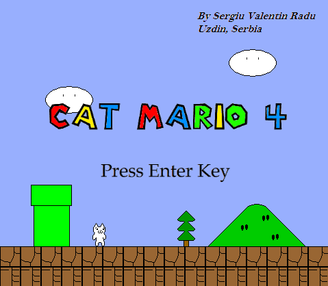 Download Game Cat Mario 4 Full Version