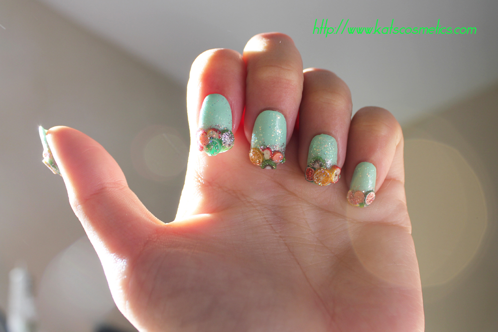 .Kats cosmetics.: Summer Fruit Nail Art