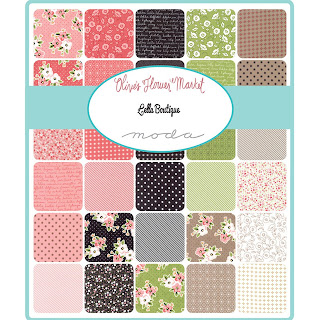 Moda Olive's Flower Market Fabric by Lella Boutique for Moda Fabrics