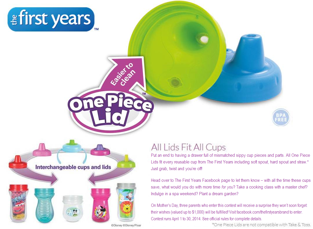 Play Doh Küche Müller The First Years One Piece Lid Sippy Cups Review Contest