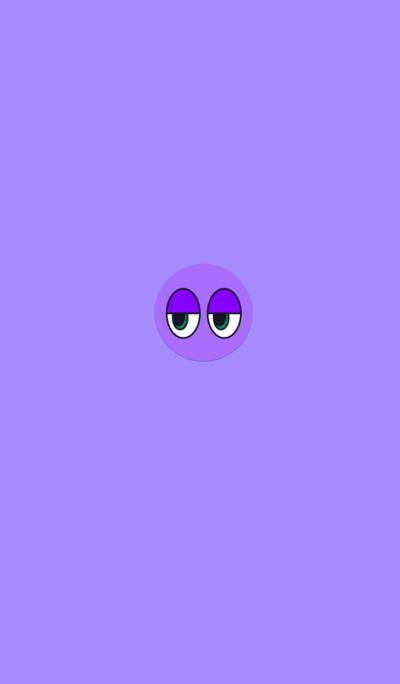 Ball Purple Eyes