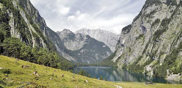 Lake Obersee Near Schoenau