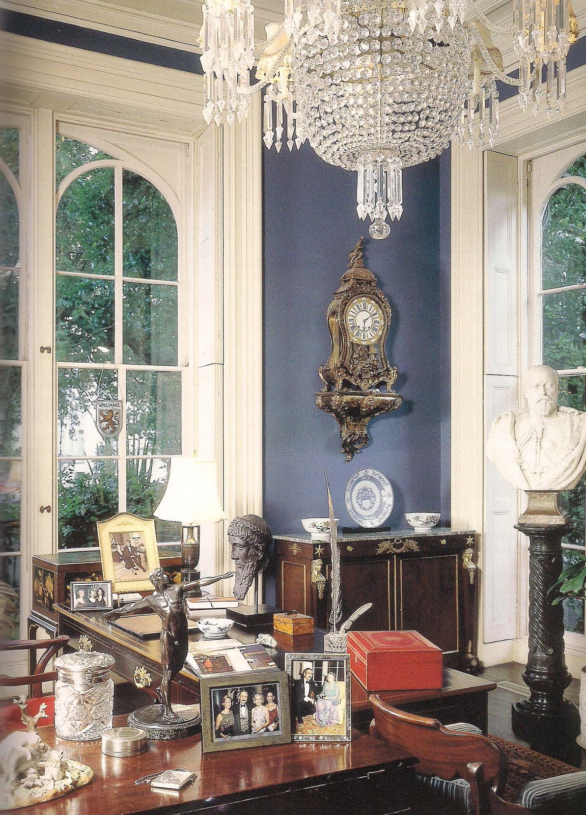 Georgian Drawing Room: The Devoted Classicist: The Furnishings: Mercer House