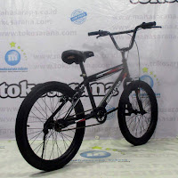 Sepeda BMX Senator Hibore Classic Hi-Ten Steel V-Brake 20 Inci