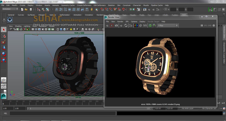 Download V-Ray For Sketchup / Maya / 3D Max / Rhino Full Version