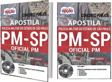 Apostila concurso PM SP CFO 2017 - Oficial PM
