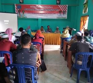 Percepat Pembangunan Kecamatan Bram Itam Gelar Musrembang