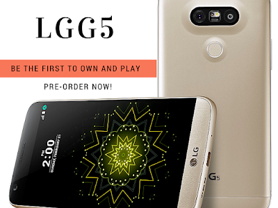 LG G5: Be The First To Own And Play