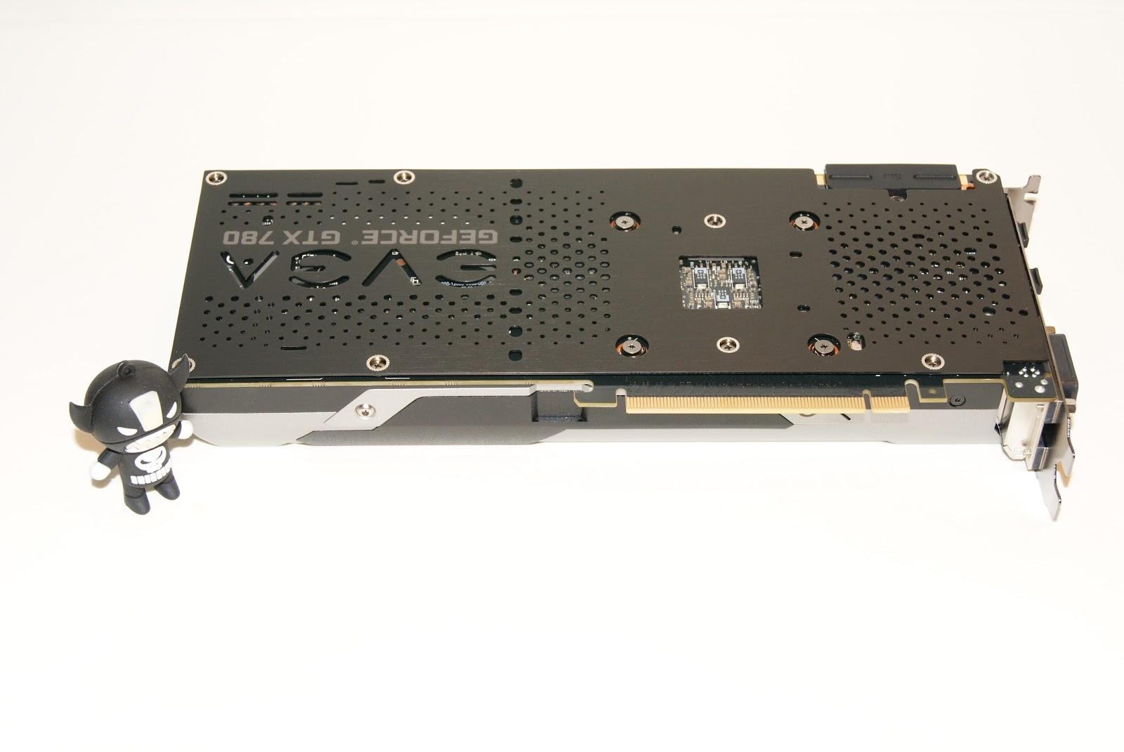 EVGA GTX780 Ti SC con backplate