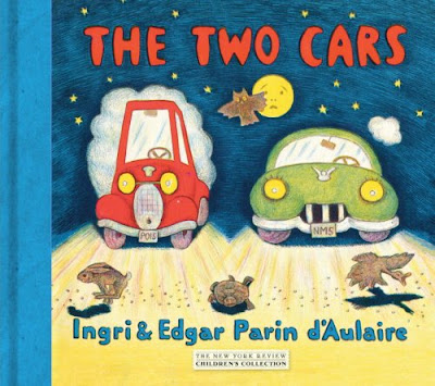 The Two Cars by Ingri and Edgar Parin d'Aulaire front cover
