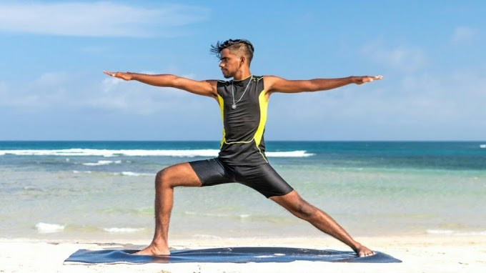 Complete man Yoga clothing and accessories