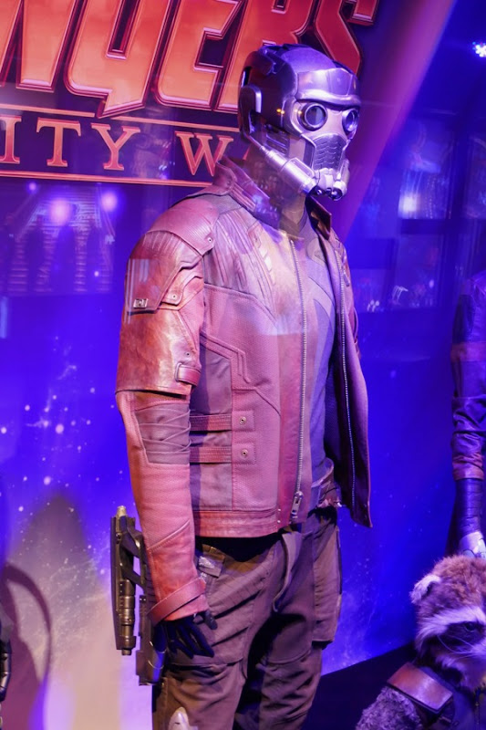 Avengers Infinity War StarLord costume