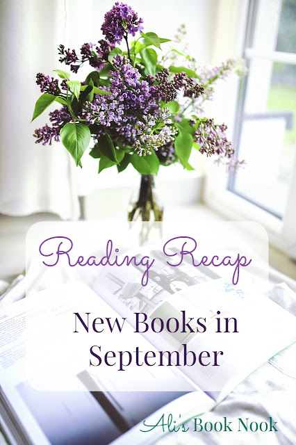 new books in september I read review and recap