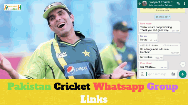 375+ Best Pakistan Cricket Whatsapp Group Link List