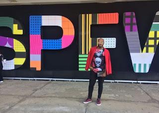 O Fashion Bloguer e Digital Influencer Felipe Ruffino foi presença festejada no SPFW
