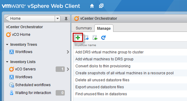 Changing GuestOS Type Using a Custom vCO Workflow in the vSphere Web