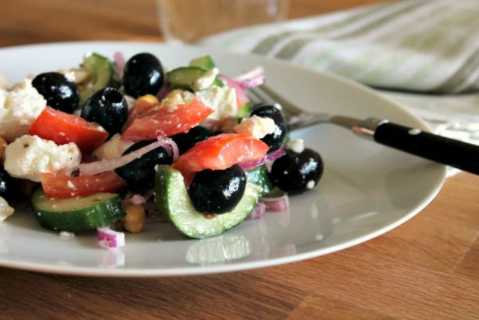 Greekish Summer Salad
