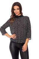 Bluza Pretty Neagra • Bluze si Camasi