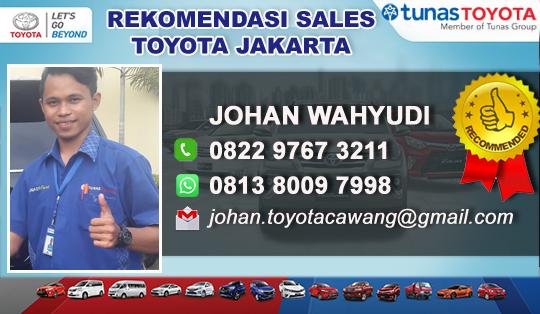Rekomendasi Sales Tunas Toyota Dewi Sartika Cawang - Jakarta Timur