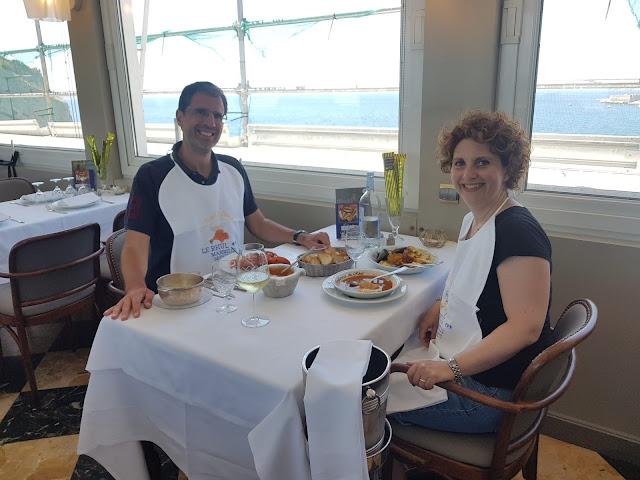 Bouillabaisse al ristorante Le Rhul-Marsiglia