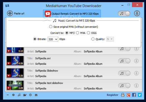 free download youtube downloader for window 10