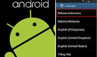 Cara Menambahkan Bahasa Indonesia Pada Android