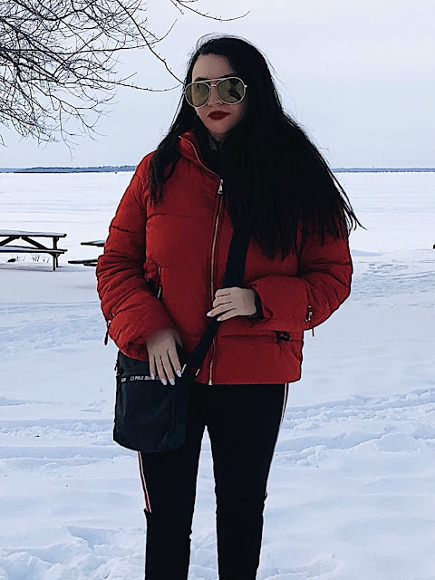 RED GLAM FOR WINTER