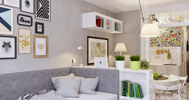 Apartemen Tipe Studio untuk Penghuni Lajang