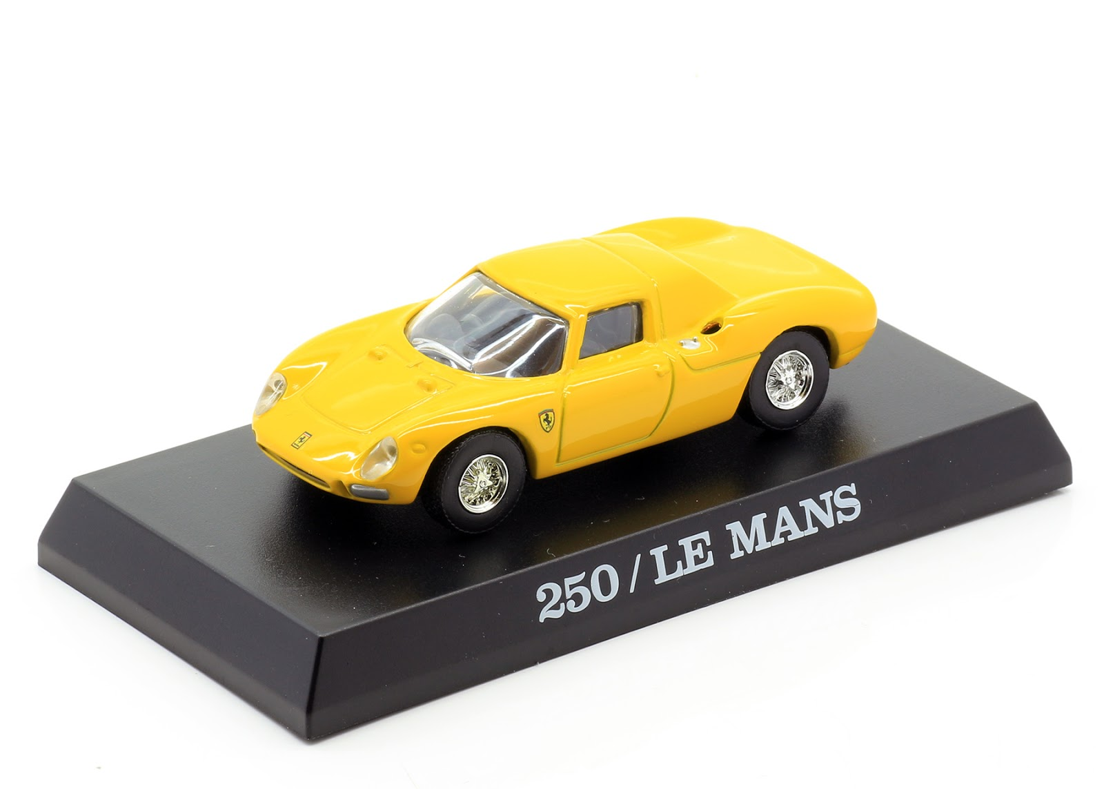 incredible mini garage ferrari 250 le mans 1963 kyosho 1 64. Black Bedroom Furniture Sets. Home Design Ideas